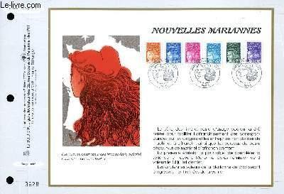 FEUILLET ARTISTIQUE PHILATELIQUE - CEF - N� 1338 - NOUVELLES MARIANNES
