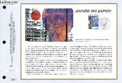 FEUILLET ARTISTIQUE PHILATELIQUE - CEF - N° 1339 - ANNEE DU JAPON