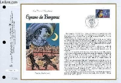 FEUILLET ARTISTIQUE PHILATELIQUE - CEF - N° 1348 - LES HEROS D'AVENTURE : CYRANO DE BERGERAC