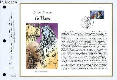 FEUILLET ARTISTIQUE PHILATELIQUE - CEF - N° 1350 - LES HEROS D'AVENTURE : LE BOSSU