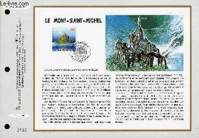 FEUILLET ARTISTIQUE PHILATELIQUE - CEF - N° 1381 - LE MONT-SAINT-MICHEL