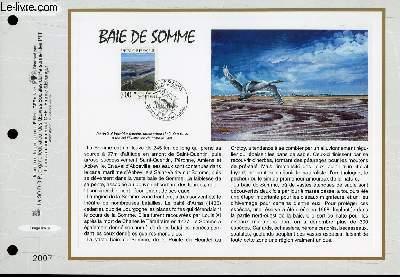 FEUILLET ARTISTIQUE PHILATELIQUE - CEF - N° 1384 - BAIE DE SOMME