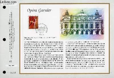 FEUILLET ARTISTIQUE PHILATELIQUE - CEF - N° 1393 - OPERA GARNIER