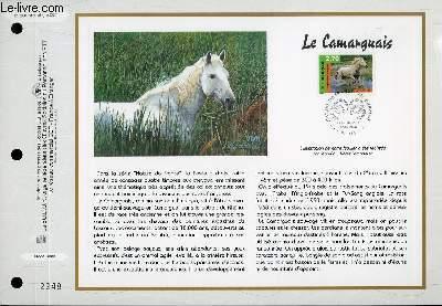 FEUILLET ARTISTIQUE PHILATELIQUE - CEF - N° 1394 - LE CAMARGUAIS