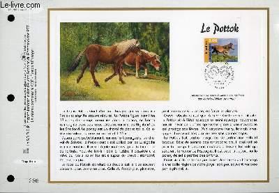 FEUILLET ARTISTIQUE PHILATELIQUE - CEF - N° 1395 - LE POTTOK