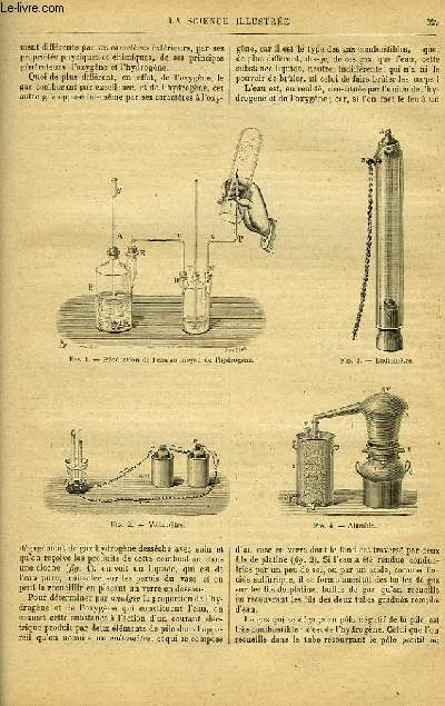 LA SCIENCE ILLUSTREE, TOME 1, NUMERO 21