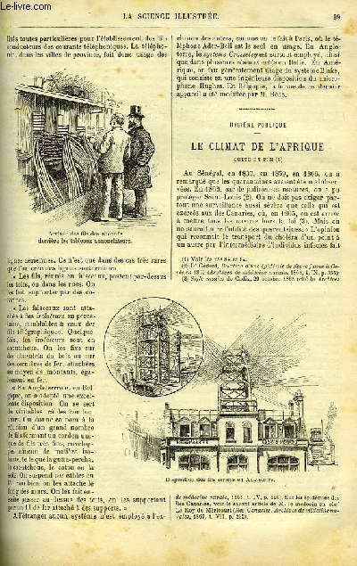 LA SCIENCE ILLUSTREE, TOME 4, N°85