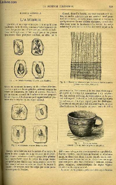 LA SCIENCE ILLUSTREE, TOME 4, N°94