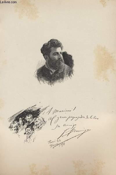 FIGURES CONTEMPORAINES tirées de l'Album Mariani. DOMINGO.