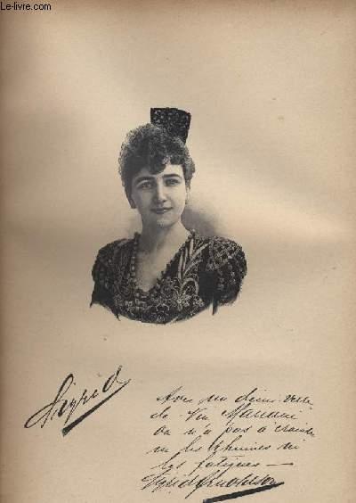 FIGURES CONTEMPORAINES tirées de l'Album Mariani. Mme SIGRID-ARNOLDSON.