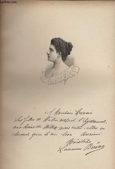 FIGURES CONTEMPORAINES tirées de l'Album Mariani. Mlle LUCIENNE BREVAL