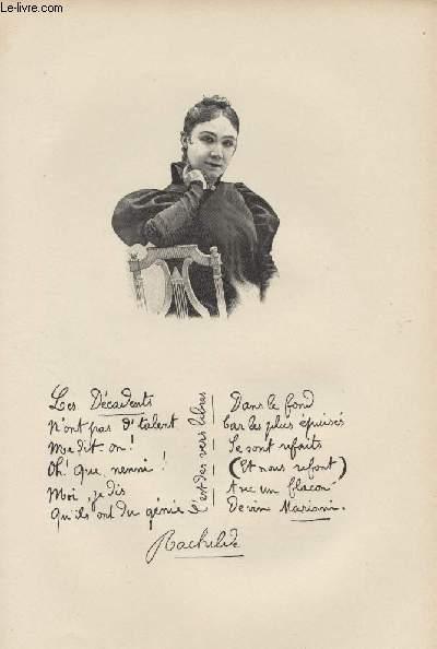 FIGURES CONTEMPORAINES tirées de l'Album Mariani. MADAME RACHILDE