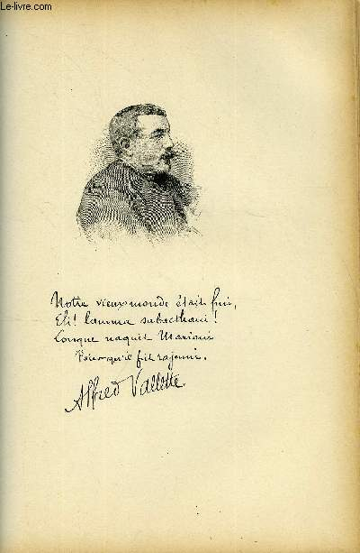 FIGURES CONTEMPORAINES tirées de l'Album Mariani. ALFRED VALLETTE