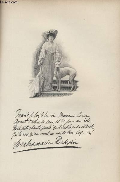 FIGURES CONTEMPORAINES tirées de l'Album Mariani. Mme CORA LAPARCERIE-RICHEPIN