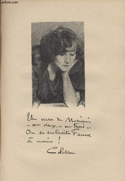 FIGURES CONTEMPORAINES tirées de l'Album Mariani. Mme COLETTE