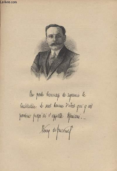 FIGURES CONTEMPORAINES tirées de l'Album Mariani. HENRY DE JOUVENEL