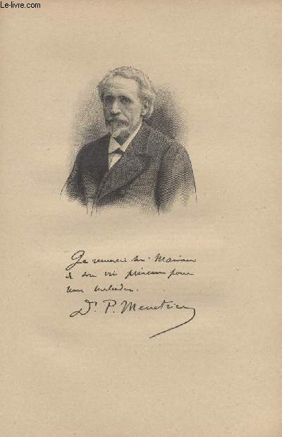 FIGURES CONTEMPORAINES tirées de l'Album Mariani. DOCTEUR PIERRE MENETRIER