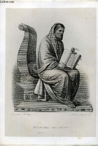EXTRAIT DU PLUTARQUE FRANCAIS TOME 1 - Vies des hommes et des femmes illustres de la France depuis le cinquième siècle jusqu'à nos jours. GREGOIRE DE TOUR, NE EN 539, MORT EN 593