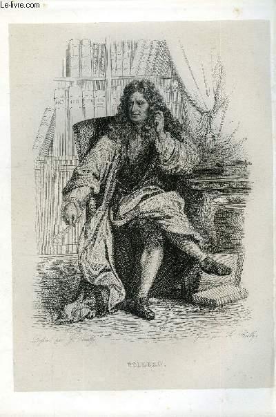 EXTRAIT DU PLUTARQUE FRANCAIS TOME 4 - Vies des hommes et des femmes illustres de la France depuis le cinquième siècle jusqu'à nos jours. BOILEAU, NE EN 1636, MORT EN 1711