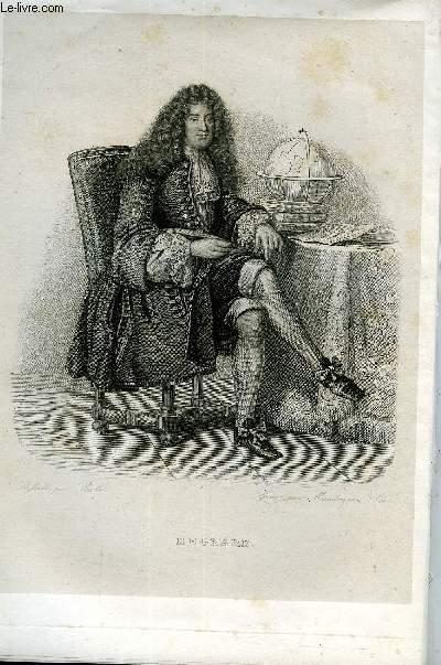 EXTRAIT DU PLUTARQUE FRANCAIS TOME 5 - Vies des hommes et des femmes illustres de la France depuis le cinquième siècle jusqu'à nos jours. REGNARD, NE EN 1656, MORT EN 1710