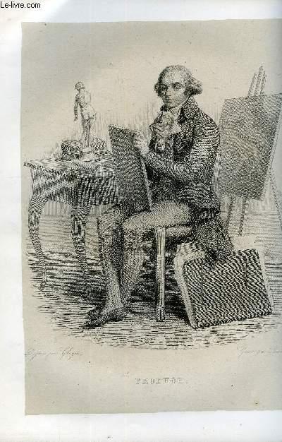 EXTRAIT DU PLUTARQUE FRANCAIS TOME 6 - Vies des hommes et des femmes illustres de la France depuis le cinquième siècle jusqu'à nos jours. PRDUHON, NE EN 1759, MORT EN 1823