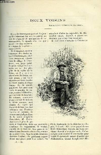 LE MONDE MODERNE TOME 1 - Deux voisins par Henri Chantavoine