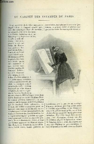 LE MONDE MODERNE TOME 1 - Le cabinet des estampes de Paris par Henri Bouchot