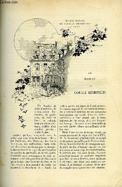 LE MONDE MODERNE TOME 2 - Le roman de Camille Desmoulins par G. Lenotre