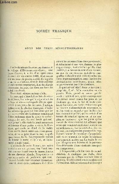 LE MONDE MODERNE TOME 5 - Soirée tragique par Ernest Daudet