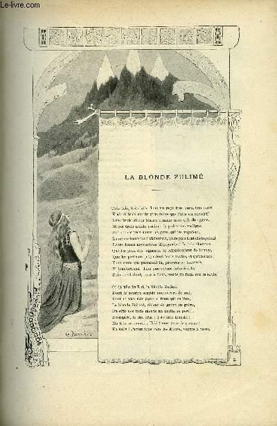 LE MONDE MODERNE TOME 5 - La blonde zulimé par Jean Rameau