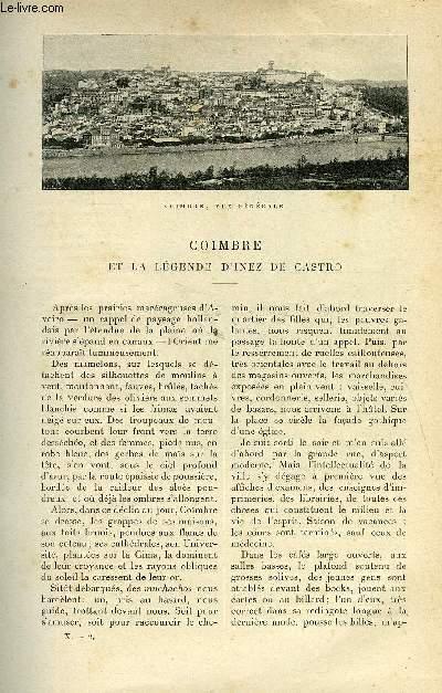 LE MONDE MODERNE TOME 10 - COIMBRE ET LA LEGENDE D'INEZ DE CASTRO