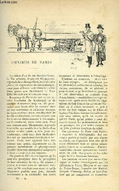 LE MONDE MODERNE TOME 11 - OMNIBUS DE PARIS