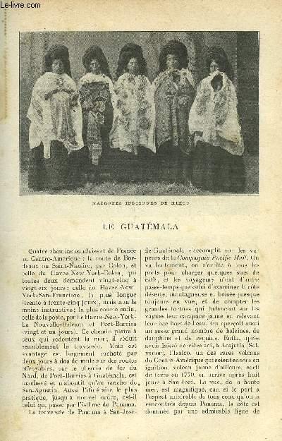 LE MONDE MODERNE TOME 12 - LE GUATEMALA