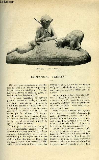 LE MONDE MODERNE TOME 14 - EMMANUEL FREMIET
