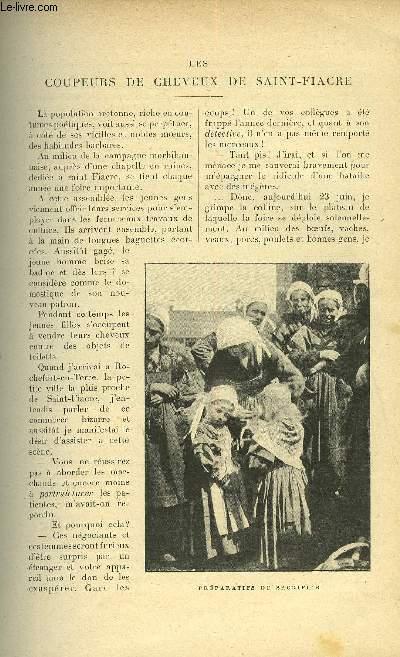 LE MONDE MODERNE TOME 15 - LES COUPEURS DE CHEVEUX DE SAINT-FIACRE