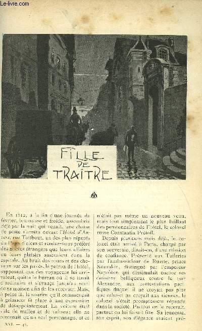 LE MONDE MODERNE TOME 16 - FILLE DE TRAITRE