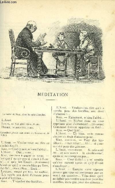 LE MONDE MODERNE TOME 16 - MEDITATION