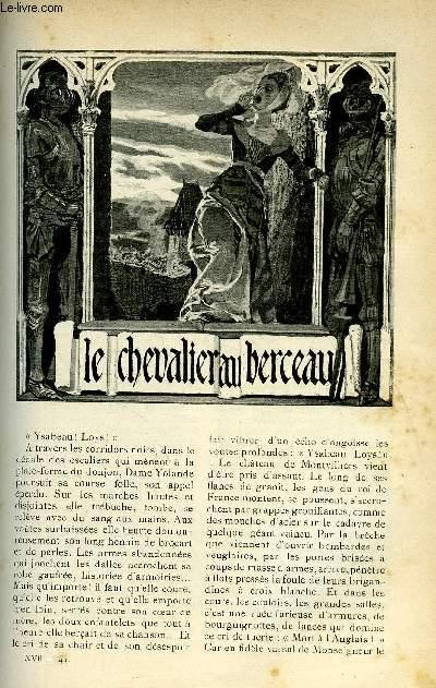 LE MONDE MODERNE TOME 17 - LE CHEVALIER DU BERCEAU