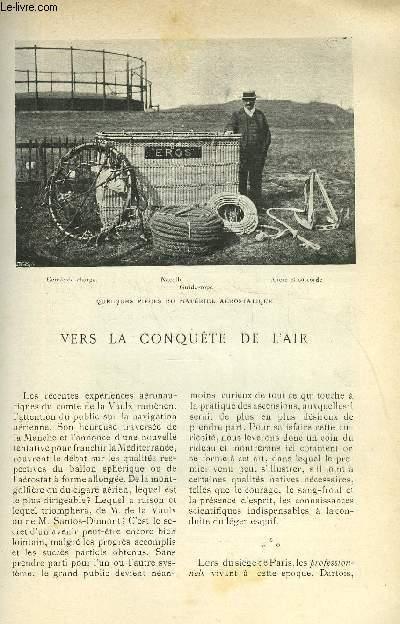 LE MONDE MODERNE TOME 18 - VERS LA CONQUETE DE L'AIR