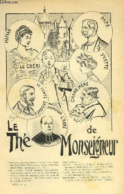 LE MONDE MODERNE TOME 18 - LE THE DE MONSEIGNEUR
