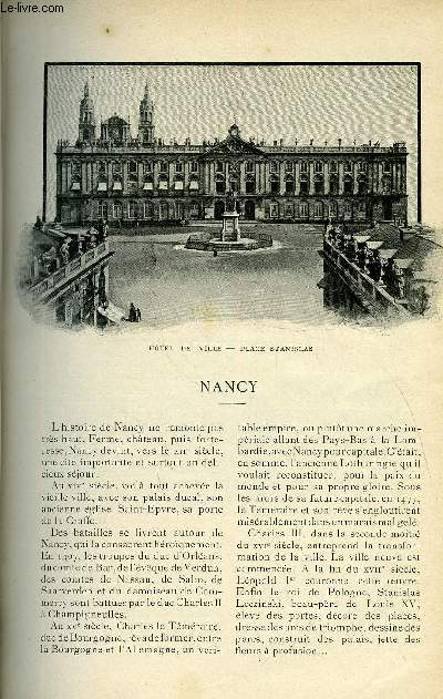 LE MONDE MODERNE TOME 19 - NANCY