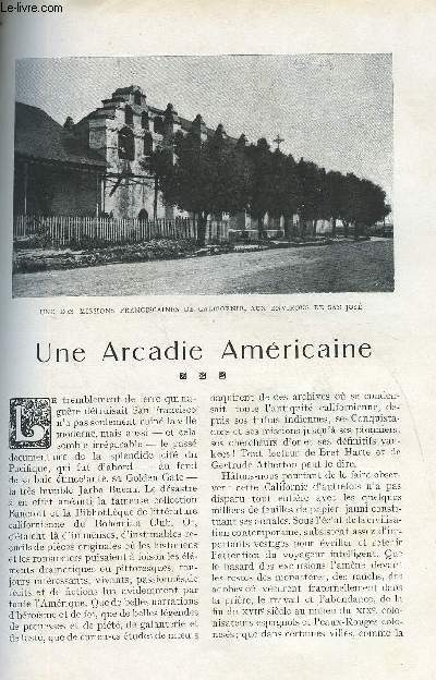 LE MONDE MODERNE TOME 26 - UNE ARCADIE AMERICAINE