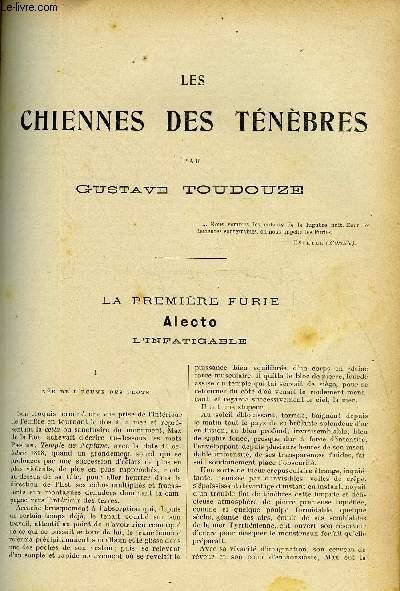 LE MONDE MODERNE - SUPPLEMENT CONSACRE AU ROMAN CONTEMPORAIN N°2 - LES CHIENNES DES TENEBRES