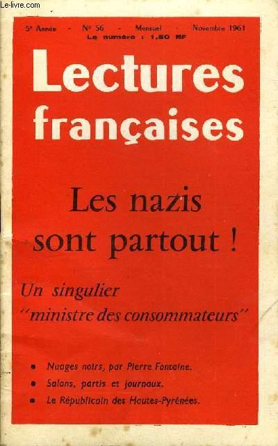LECTURES FRANCAISES N° 56 - LES NAZIS SONT PARTOUT !, UN SINGULIER
