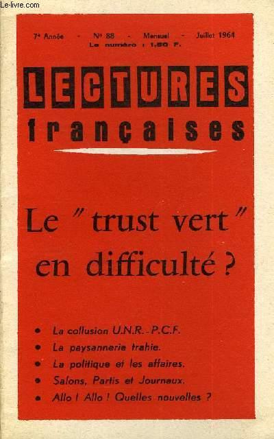 LECTURES FRANCAISES N° 88 - LE