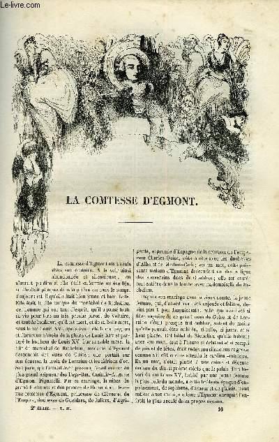 EXTRAIT DE LA REVUE PITTORESQUE, MUSEE LITTERAIRE ILLUSTRE PAR LES PREMIERS ARTISTES TOME 2 -