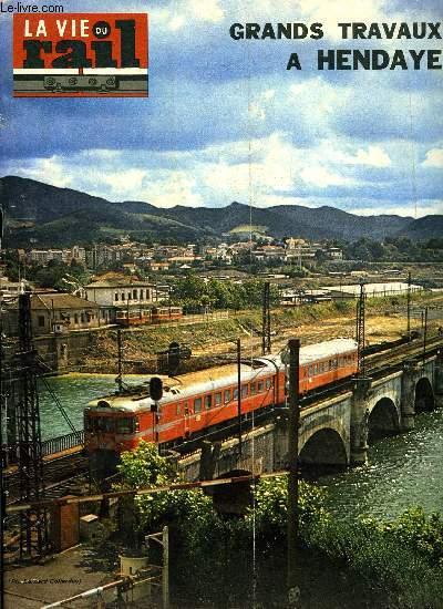 La vie du rail n° 1483 - ratp : la ligne 13 a champs-elysées-clémenceau, a  reims la réunion annuelles agences de voyages-sncf, des opérations de