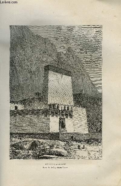 NOUVELLE GEOGRAPHIE UNIVERSELLE - LA TERRE ET LES HOMMES - VII. L'ASIE ORIENTALE - Chapitre II : L'empire chinois - Le Tibet, Plateaux du Tibet, Explorations du Tibet, Tibet et Kouenlun, Tengri nor et plateau de Khatchi, Montagnes du tibet, Hautes vallées