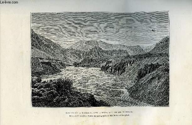 NOUVELLE GEOGRAPHIE UNIVERSELLE - LA TERRE ET LES HOMMES - VIII. L'INDE ET L'INDO-CHINE - Chapitre II : L'Hindoustan - Vue générale de la contrée, Himalaya occidental, Hautes vallées des cinq fleuves, Himalaya central, Himalaya oriental - Hautes vallées