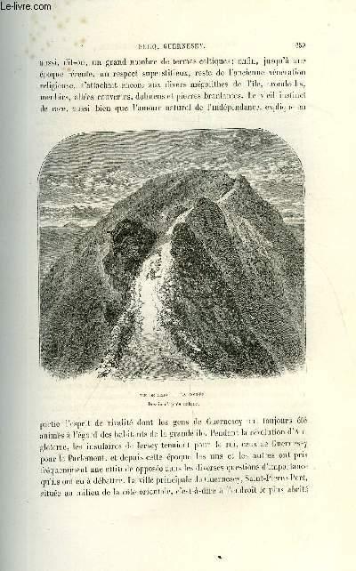 NOUVELLE GEOGRAPHIE UNIVERSELLE - LA TERRE ET LES HOMMES - II. LA FRANCE - Chapitre IX : Iles normandes - Archipel de Chausey, Minquiers, Jersey, Serq, Guernesey